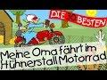 Download Video Download Meine Oma fährt im Hühnerstall Motorrad - Kinderlieder Klassiker zum Mitsingen || Kinderlieder 3GP MP4 FLV