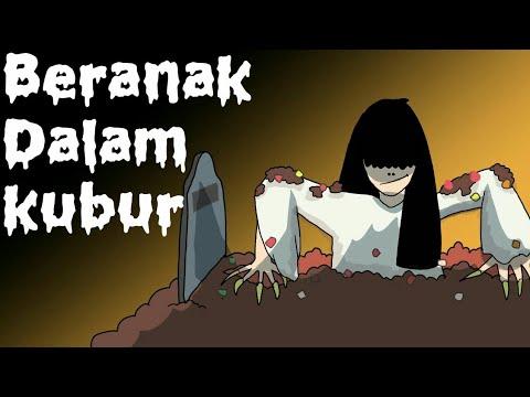 Download Kartun Lucu - Beranak Dalam Kubur - Kartun Hantu - Animasi Indonesia free