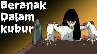 Kartun Lucu - Beranak Dalam Kubur - Kartun Hantu - Animasi Indonesia