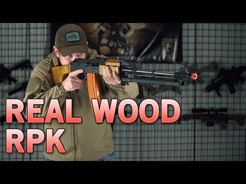 Real Metal, Real Wood RPK AEG Assualt Rifle - Affordable Support Rifle | Airsoft GI
