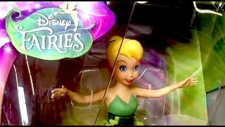 MAGICALLY FLYING TINKER BELL [Flutterbyes] FLYING TINKER BELL Toy Review DISNEY FAIRIES