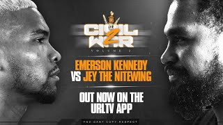EMERSON KENNEDY VS JEY THE NITEWING RELEASE TRAILER | URLTV