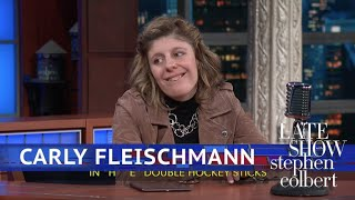 Carly Fleischmann Gives Late-Night TV A Try