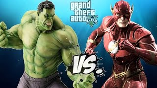 THE FLASH VS THE INCREDIBLE HULK  - EPIC BATTLE