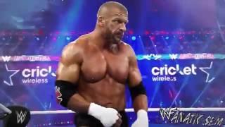 'SEM'  Triple H vs Roman Reigns   Wrestlemania 32 Highlights HD
