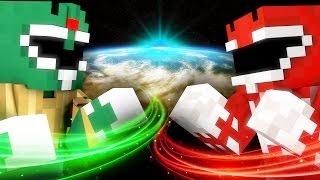 POWER RANGERS TRAINING - Minecraft