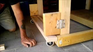 Folding Bench Wheels