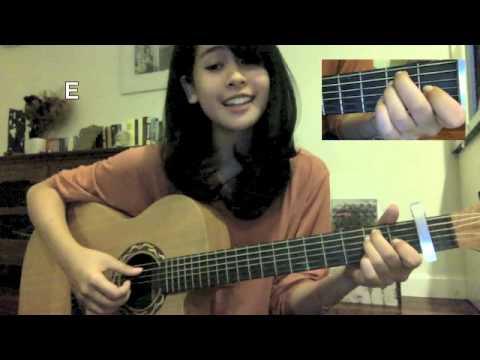 Tahu Diri Guitar Tutorial By Maudy Ayunda