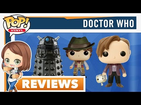 Doctor Who Funko POPs: 3 New Exclusive Pops