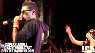 Yazz The Greatest Ft. Asia Sparks - Performing