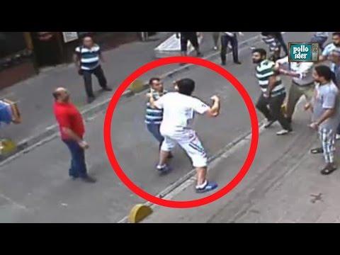 Boxeador irlandés se pelea con decenas de turcos en las calles de Estambul Like Bud Spencer