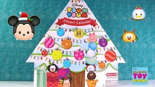 Disney Tsum Tsum Target Exclusive Advent Calendar Figure Countdown Christmas Toy Review | PSToyRevie