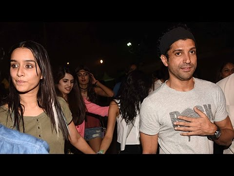 Rumoured Couple Shraddha Kapoor-Farhan Akhtar Spotted together at the Coldplay Concert | SpotboyE