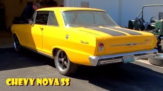 Chevy Nova SS Open Headers Lopey Idle Big Cam