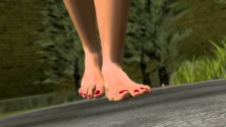 Giantess Stroll in the Park