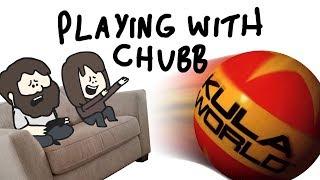 Wife playing with chubb - Kula World