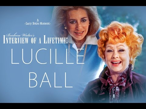 Lucille Ball & Barbara Walters An Interview of a LifeTime FULL