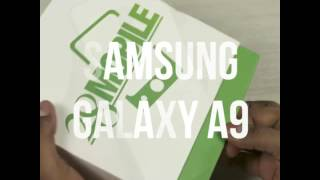 Samsung Galaxy A9 - Unboxing & Hands On