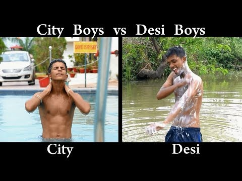 City Boys vs Desi Boys | Funny Video | OYE TV