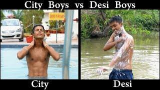City Boys Vs Desi Boys Funny Video Oye Tv