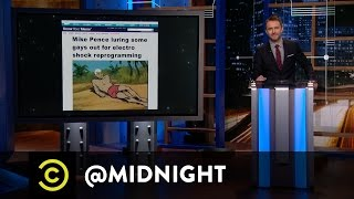 The Adventures of Mike Pence - @midnight with Chris Hardwick