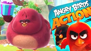 Completing The Angry Birds Action Game- Levels 86 - 90-Brand New Angry Birds Movie Game(IOS/ANDROID)