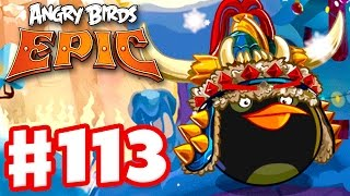 Angry Birds Epic - Gameplay Walkthrough Part 113 - The Holidays Are Coming! (iOS, Android)