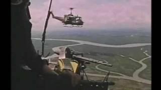 Vietnam war music video door gunner