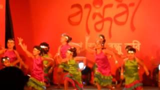 Ritisha Banerjee - Star Jalsa Show Bandhobi @ Ballygaunge Durga Bari - Aug' 2014