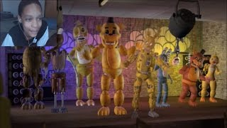 [FNAF SFM] Just Gold REACTION   BREAKING THE MOLD