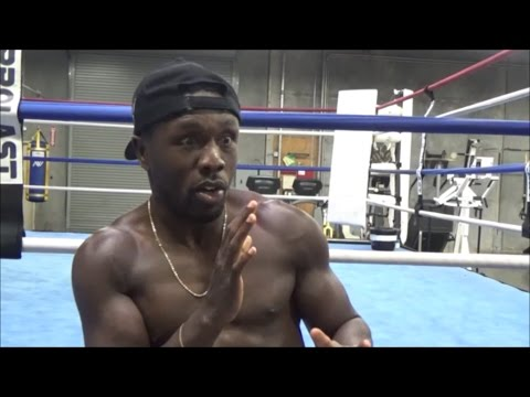 MUST SEE ANDRE BERTO DESCRIBES WHAT FIGHTING FLOYD MAYWEATHER IS LIKE; GIVES BEST DETAILS