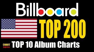 Billboard Top 200 Albums | TOP 10 | June 23, 2018 | ChartExpress