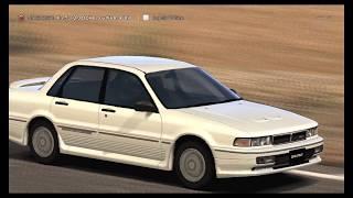【GT5】 三菱 ギャラン  2.0 DOHC ターボVR-4 '89 【DEMO】