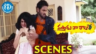 Vastadu Naa Raju Movie Scenes - Manchu Vishnu Kidnapping Taapsee