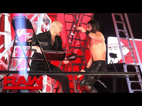 Xxx Mp4 Rollins Vs Corbin Intercontinental Title Tables Ladders Amp Chairs Match Raw Dec 10 2018 3gp Sex
