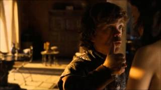 Game of Thrones 4x01- Shae and Thyrion Scene