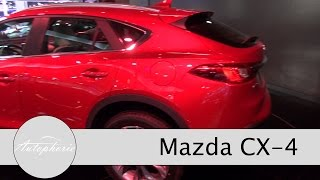 Kurzvorstellung Mazda CX-4 - Auto China 2016 - Autophorie