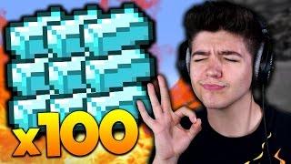 OVERPOWERED IN 100 SECONDS! | Minecraft SOLO MONEY WARS with PrestonPlayz