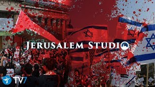 The battle over narratives in the Israeli-Palestinian conflict- Jerusalem Studio 366