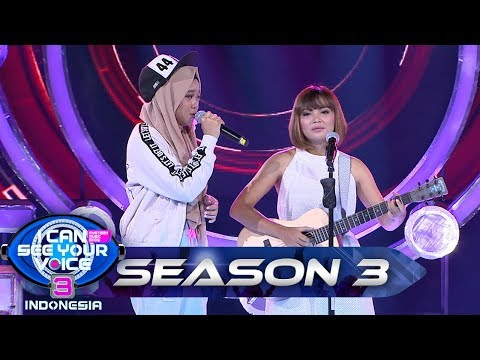 Luar Biasa! CUTE MONSTER Teman Duet yg Cocok Buat Ayu IDOL - I Can See Your Voice Indonesia (26)