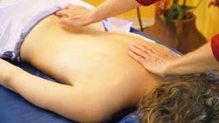 Back Massage Therapy For Women Tutorial, ASMR Athena Jezik & Courtney Bell