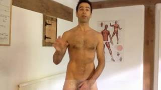 Naked Gay Personal Trainer and Body Image