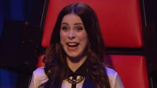 Lena Meyer Landrut   Satellite Olivia   The Voice Kids 2013   Blind Audition