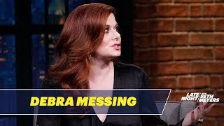 "Debra Messing Rocked ""the Rachel"" Before She Was on Will & Grace"