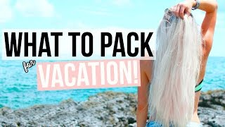 What To Pack for Vacation! Tips + Essentials!   Aspyn Ovard