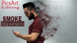 Picsart Photo editing | Smoke Dispersion Effect