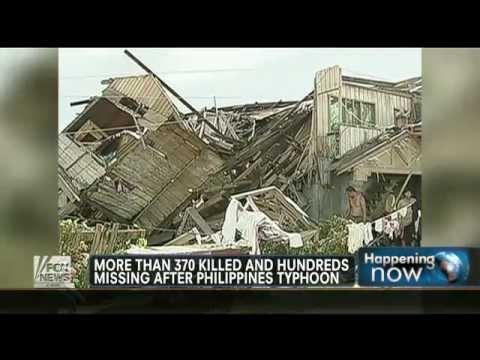 Typhon, death devastation in the Philippines