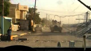 IED detonates next to gun truck