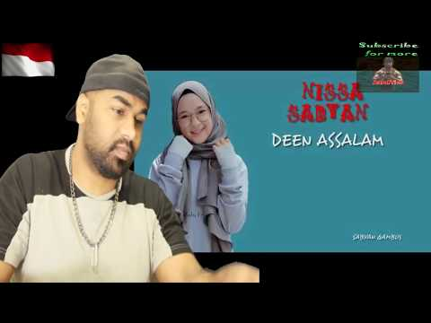 DEEN ASSALAM - Cover by SABYAN| INDIAN REACTION TO INDONESIAN VIDEO