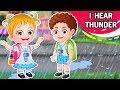 I Hear Thunder Nursery Rhyme with Lyrics | More Kids Songs & Nursery Rhymes Collection By Baby Hazel